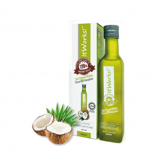 Extra Virgin Coconut Oil (250ml)