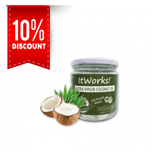Extra Virgin Coconut Oil Jar (232ml)
